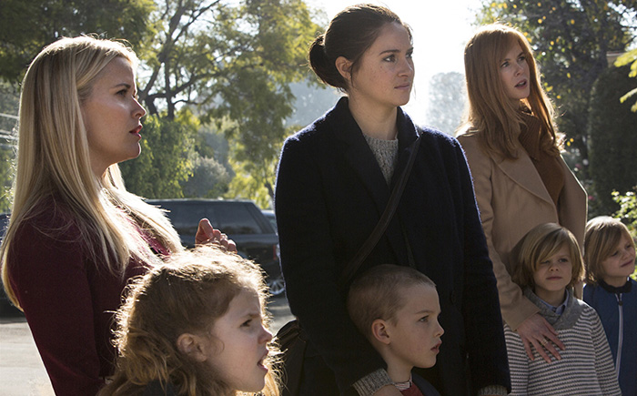 Big Little Lies stars Reese Witherspoon, Shailene Woodley, Nicole Kidman (Hilary Bronwyn Gayle/courtesy of HBO)