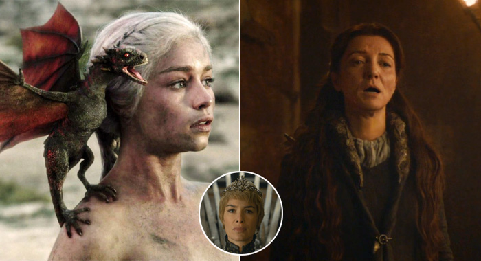 Game of Thrones moms: Daenerys, Catelyn, Cersei (HBO)