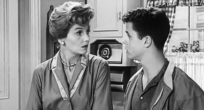 LEAVE IT TO BEAVER, (from left): Barbara Billingsley, Tony Dow, 1957-63.