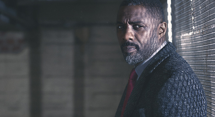 Picture shows: DCI John Luther (IDRIS ELBA) (BBC America)