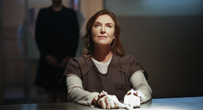 "Supergirl -- ""Luthors"" -- Image SPG212a_0062 -- Pictured: Brenda Strong as Lillian Luthor -- Photo: Bettina Strauss/The CW -- © 2017 The CW Network, LLC. All Rights Reserved"