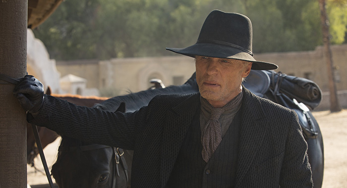 Westworld Episode 14 (season 2, episode 4), debut 5/13/18: Ed Harris. photo: John P. Johnson/HBO