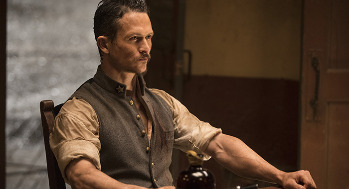 Westworld Episode 14 (season 2, episode 4), debut 5/13/18: Jonathan Tucker. photo: John P. Johnson/HBO