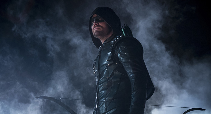 "Arrow -- ""Life Sentence"" -- Image Number: AR623b_0061.jpg -- Pictured: Stephen Amell as Oliver Queen/Green Arrow -- Photo: Diyah Pera/The CW -- ÃThe CW Network, LLC. All rights reserved."