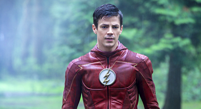 "The Flash -- ""We Are The Flash"" -- Image Number: FLA423b_0449.jpg -- Pictured: Grant Gustin as The Flash -- Photo: Shane Harvey/The CW -- 2018 The CW Network, LLC. All rights reserved"