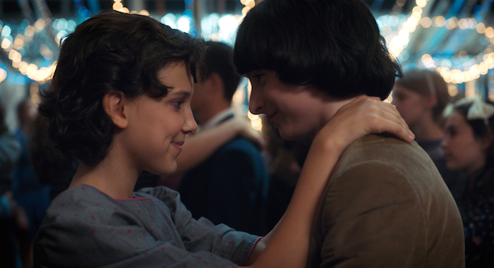 Stranger Things Season 2 (Courtesy Netflix) PICTURED Millie Bobby Brown, Finn Wolfhard