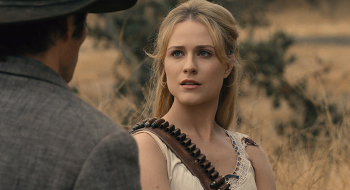 Westworld Episode 15 (season 2, episode 5), debut 5/20/18: Evan Rachel Wood. photo: HBO