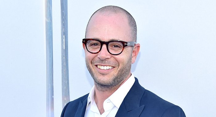 "ANAHEIM, CA - MAY 09: Writer Damon Lindelof attends the world premiere of Disney's ""Tomorrowland"" at Disneyland, Anaheim on May 9, 2015 in Anaheim, California. (Photo by Alberto E. Rodriguez/Getty Images for Disney)"