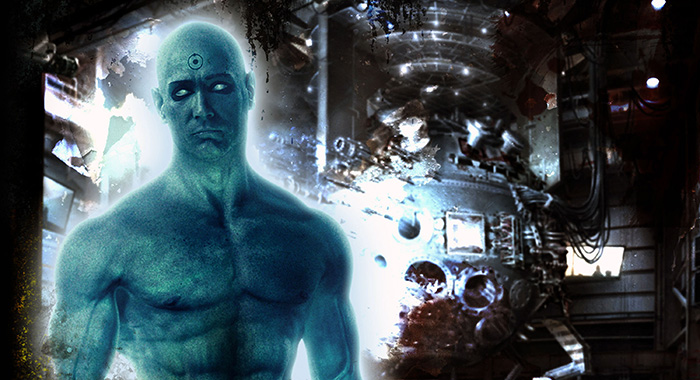 WATCHMEN, Billy Crudup as Dr. Manhattan, 2009. ©Warner Bros./courtesy Everett Collection