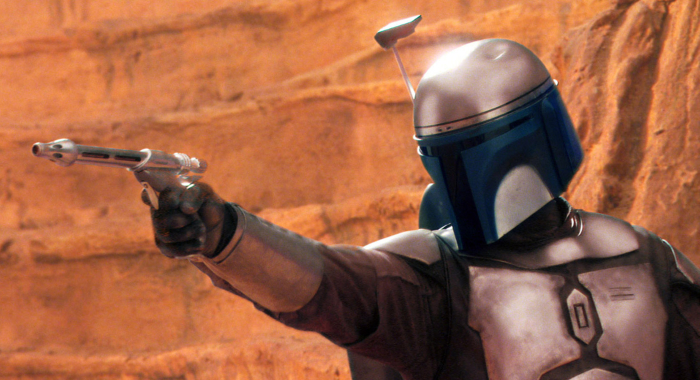 STAR WARS: EPISODE II-ATTACK OF THE CLONES, Daniel Logan as Boba Fett, 2002. TM and ©Copyright Twentieth Century-Fox Film Corporation. All rights reserved/Courtesy Everett Collection
