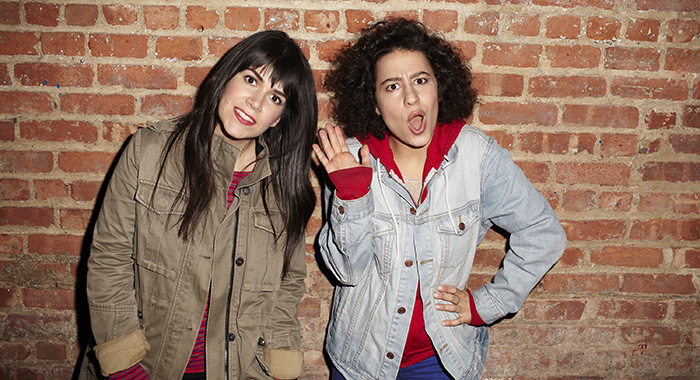 Broad City l-r: Abbi Jacobson, Ilana Glazer Photo Credit: Lane Savage/Comedy Central