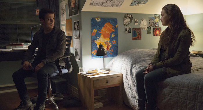 13 Reasons Why stars Dylan Minnette and Katherine Langford (Beth Dubber/Netflix)