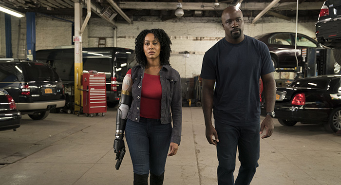 Marvel's Luke Cage Season 2 EPISODE 7 PHOTO CREDIT David Lee/Netflix PICTURED Simone Missick, Mike Colter