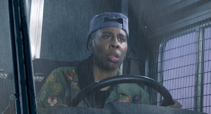 "LENA WAITHE as Helen in Warner Bros. Pictures', Amblin Entertainment's and Village Roadshow Pictures' action adventure ""READY PLAYER ONE,"" a Warner Bros. Pictures release. (Jaap Buitendijk/Warner Bros. Pictures)"