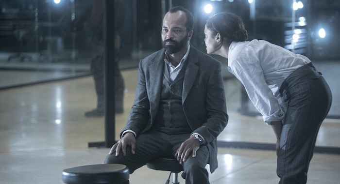 Episode 17 (season 2, episode 7), debut 6/3/18: Jeffrey Wright, Tessa Thompson. photo: Jordin Althaus/HBO