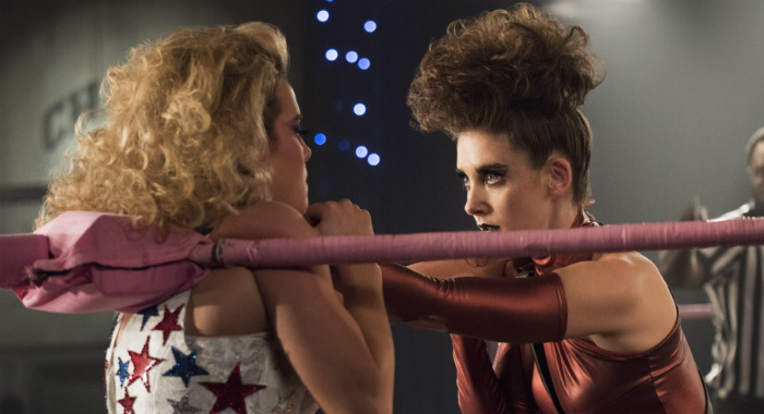 GLOW SEASON Season 2 EPISODE 6 PHOTO CREDIT Erica Parise/Netflix PICTURED Betty Gilpin, Alison Brie