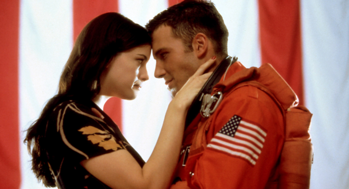 Liv Tyler and Ben Affleck in Armageddon