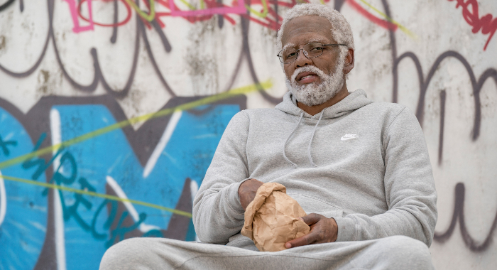 Kyrie Irving in Uncle Drew