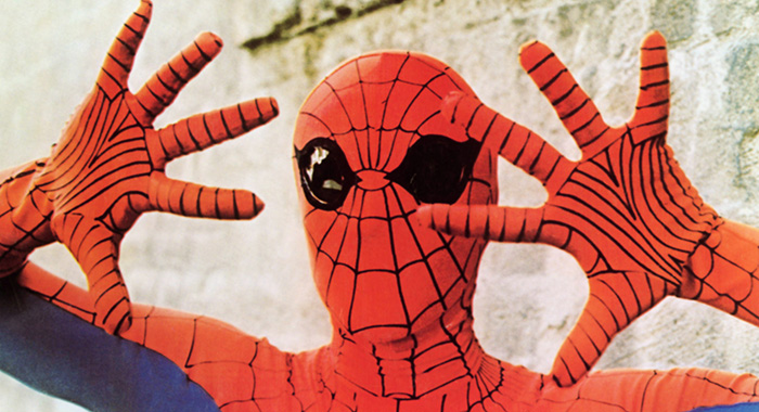 THE AMAZING SPIDER-MAN, Nicholas Hammond (as Spider-Man), 1978. (Everett Collection)