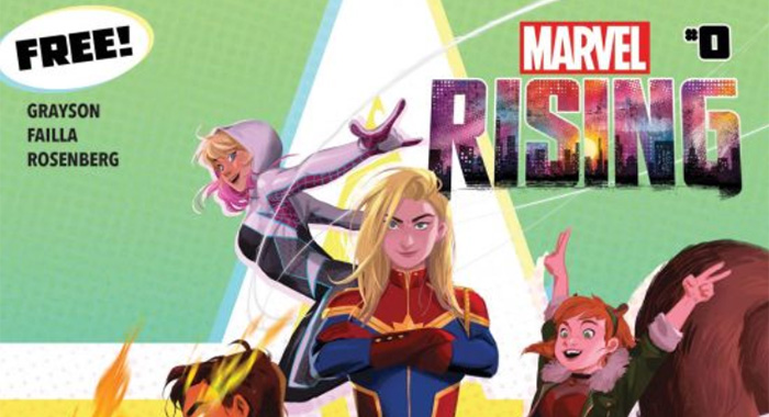 Marvel Rising comic book (Marvel)