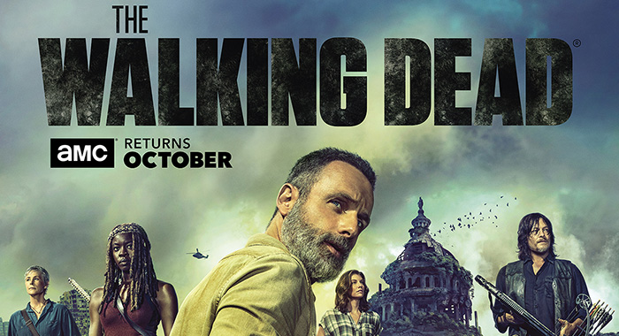 The Walking Dead season 9 SDCC panel poster (AMC)