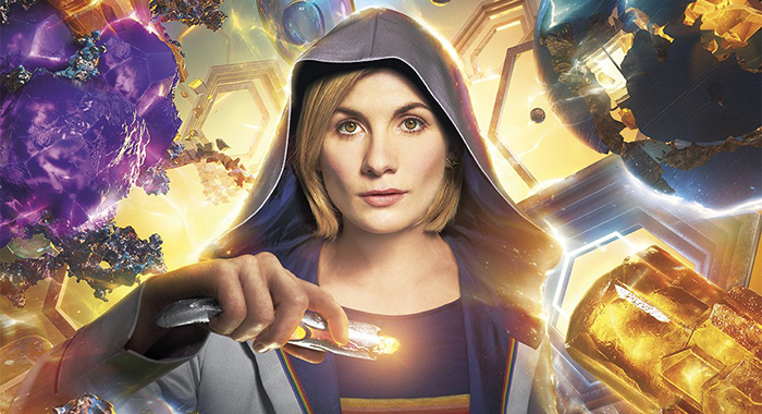 Jodie Whittaker in Doctor Who season 11 poster (BBC America)