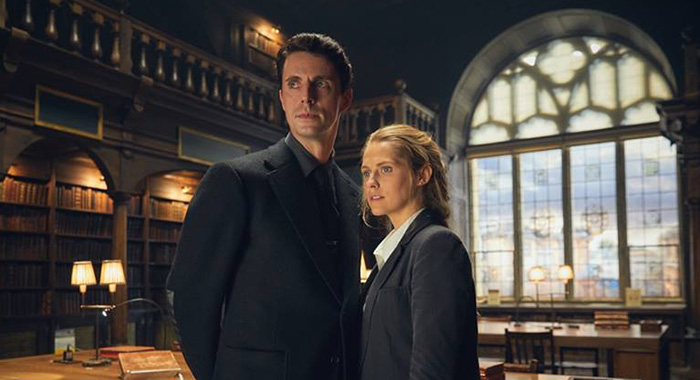 Matthew Goode and Teresa Palmer in A Discovery of Witches, coming to Sundance Now and Shudder (Sundance Now/Shudder)