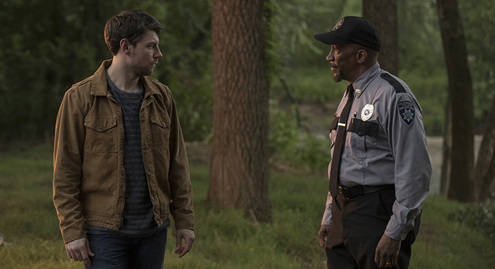 Outcast season 2 Episode 12 (season 2, episode 2), debut 7/27/18: Charmin Lee, Reg E. Cathey. photo: Kent Smith/CINEMAX