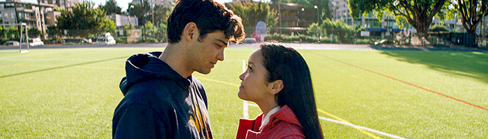 Noah Centineo and Lana Condor in To All the Boys I've Loved Before (Netflix)