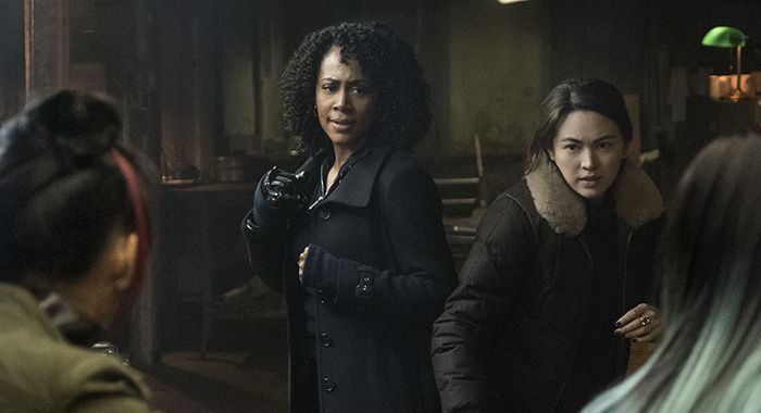Marvel's Iron Fist SEASON Season 2 EPISODE 6 PHOTO CREDIT Linda Kallerus/Netflix PICTURED Simone Missick, Jessica Henwick