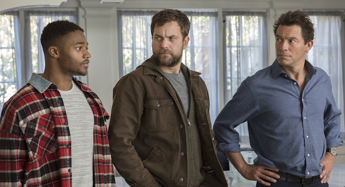 Christopher Meyer as Anton, Joshua Jackson as Cole and Dominic West as Noah in The Affair (Season 4, Episode 8). -Photo: Paul Sarkis/SHOWTIME -Photo ID: The Affair_408_ (Paul Sarkis/Showtime)