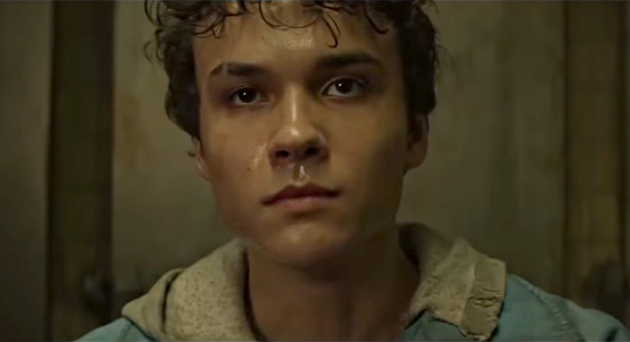Benjamin Wadsworth in Deadly Class trailer screencap (Syfy)