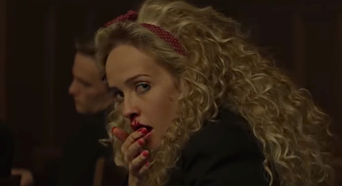 Siobhan Williams in Deadly Class trailer screencap (Syfy)