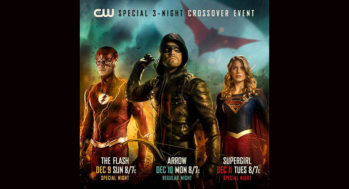 The Flash, Arrow, Supergirl crossover event announcement (The CW)