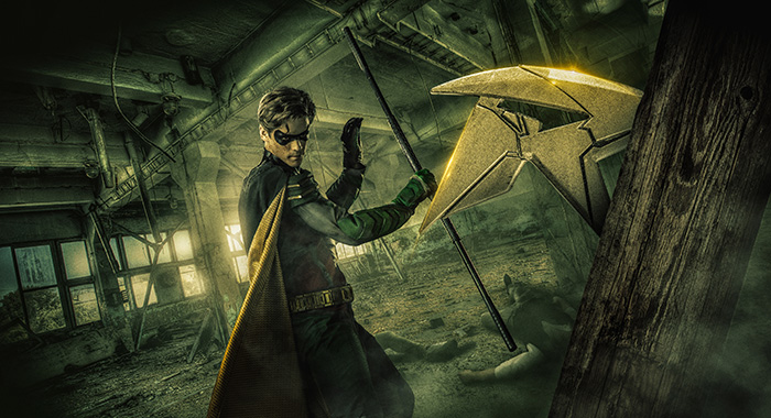 Brenton Thwaites as Dick Grayson / Robin in Titans (DC Universe)