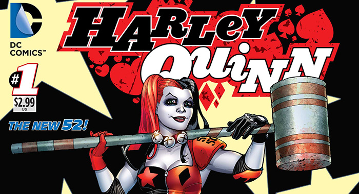 Harley Quinn No. 1 cover (DC Universe)