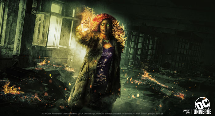 Anna Diop as Starfire in Titans (DC Universe)