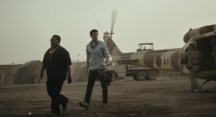 Wendell Pierce and John Krasinski in Tom Clancy's Jack Ryan (James Minchin III/Amazon)