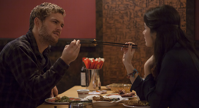 Marvel's Iron Fist SEASON Season 2 EPISODE 1 PHOTO CREDIT Linda Kallerus/Netflix PICTURED Finn Jones, Jessica Henwick