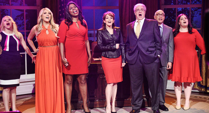 "SATURDAY NIGHT LIVE -- ""Tina Fey"" Episode 1746 (Will Heath/NBC)"