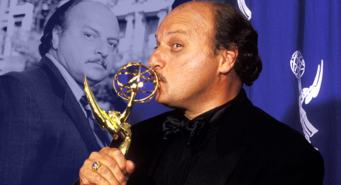 NYPD Blue star Dennis Franz (Ron Galella/WireImage; ABC/Courtesy Everett Collection)