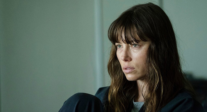 "THE SINNER -- ""Part II"" Episode 102 -- Pictured: Jessica Biel as Cora Tannetti -- (Photo by: Peter Kramer/USA Network)"