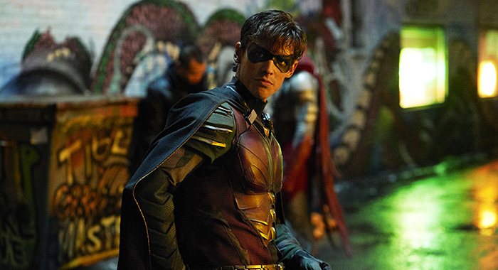 Titans stars Brenton Thwaites as Dick Grayson (Warner Bros. Entertainment Inc.)
