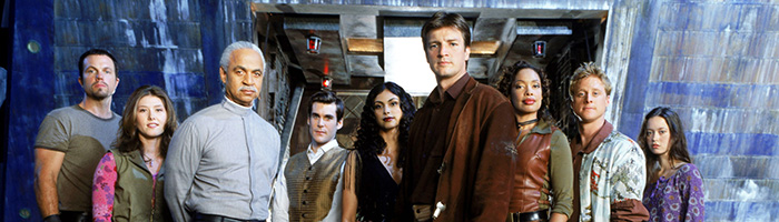 FIREFLY, Adam Baldwin, Jewel Staite, Ron Glass, Sean Maher, Morena Baccarin, Nathan Fillion, Gina Torres, Alan Tudyk, Summer Glau, 2002-03, TM and Copyright © 20th Century Fox Film Corp. All rights reserved, Courtesy: Everett Collection