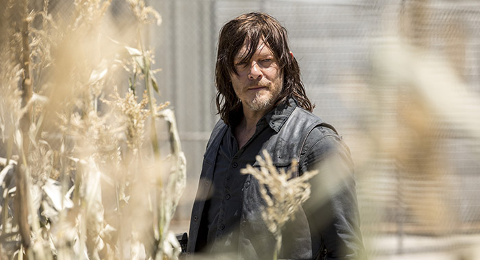 Norman Reedus as Daryl Dixon - The Walking Dead _ Season 9, Episode 1 - Photo Credit: Jackson Lee Davis/AMC