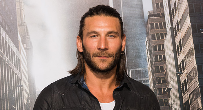 "HOLLYWOOD, CA - OCTOBER 16: Zach McGowan attends Premiere Of Warner Bros. Pictures' ""Geostorm"" - Arrivals at TCL Chinese Theatre on October 16, 2017 in Hollywood, California. (Photo by Presley Ann/Getty Images)"