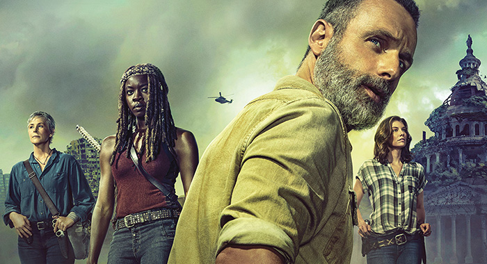 The Walking Dead SDCC season 9 panel poster (AMC)