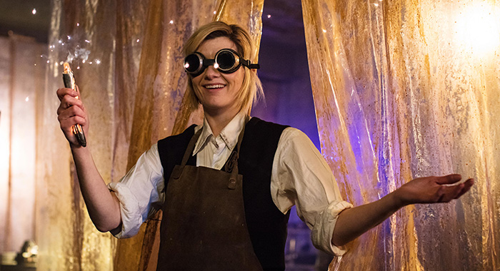 JODIE WHITTAKER in Doctor Who Series 11 (Sophie Mutevelian/BBC America)
