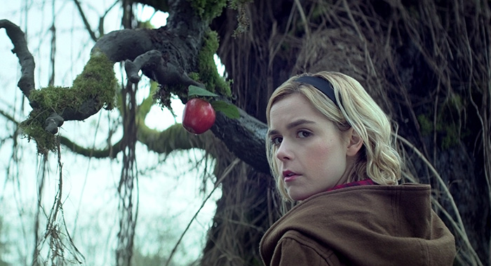 CHILLING ADVENTURES OF SABRINA SEASON Season 1 EPISODE 1 PHOTO CREDIT Courtesy of Netflix PICTURED Kiernan Shipka