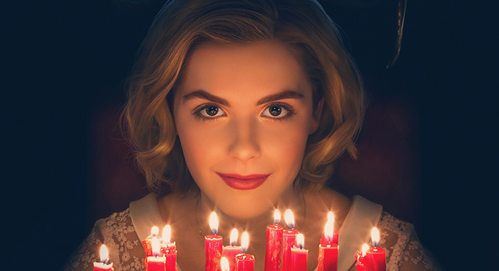 Chilling Adventures of Sabrina season 1 keyart (Netflix)